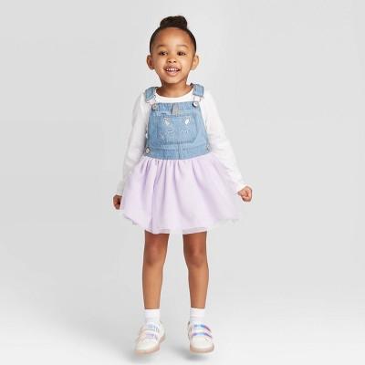 OshKosh B'gosh Toddler Girls' Unicorn Tulle Skirtall - Purple 18M