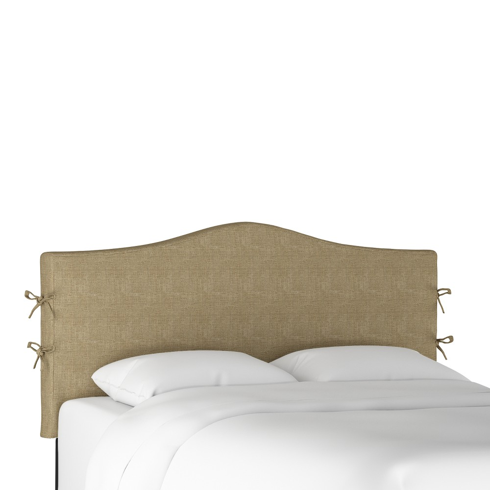 Slipcover Headboard Full Zuma Linen - Threshold