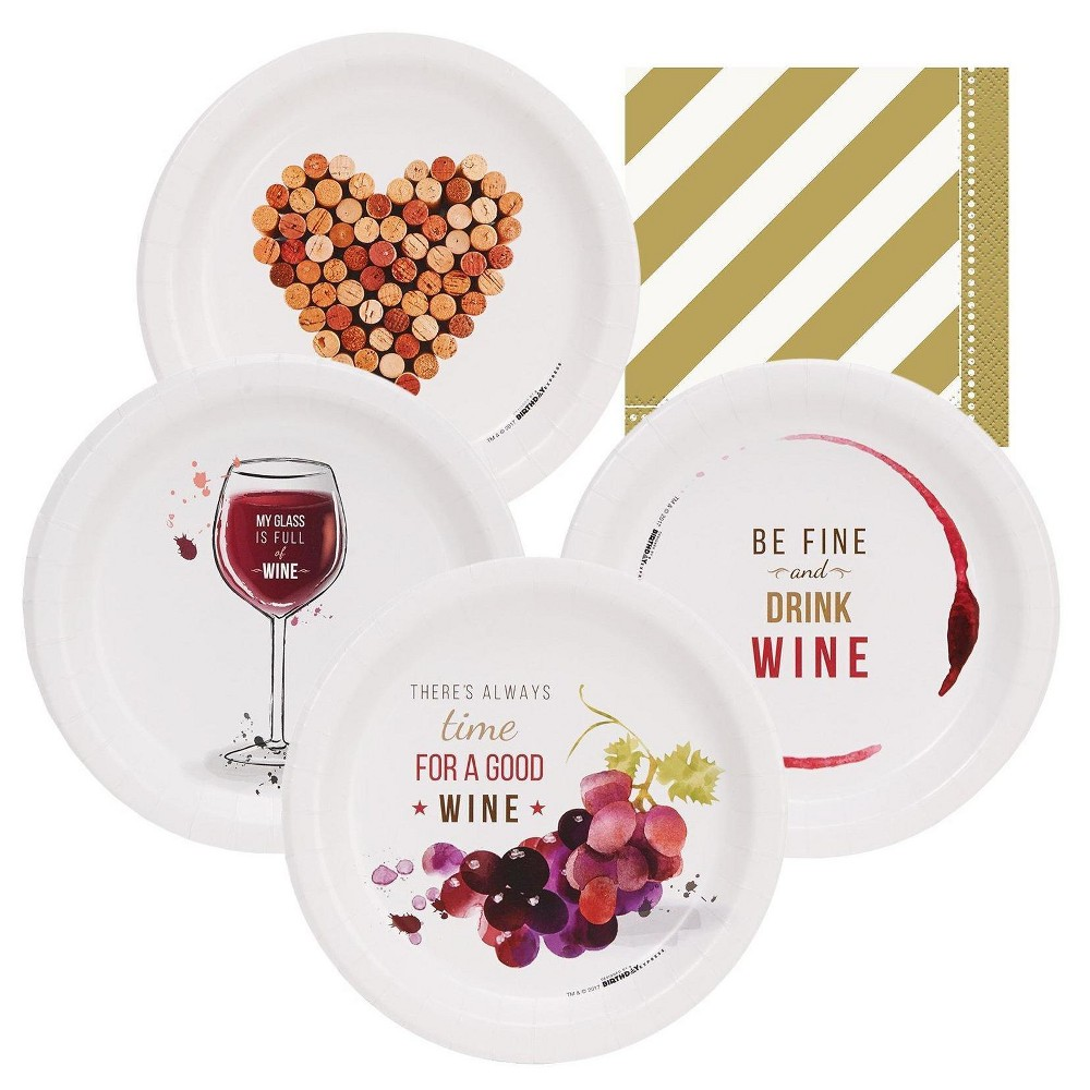 32ct Wine Party Appetizer Pack