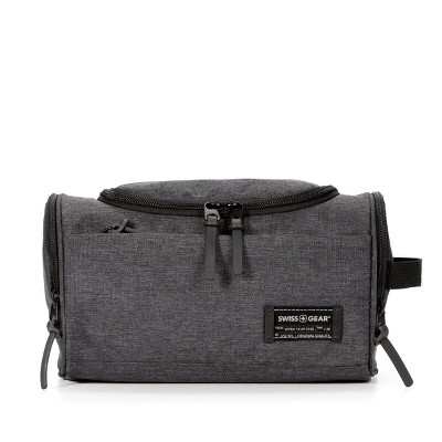 SWISSGEAR Duffle ShapedToiletry Bag - Gray
