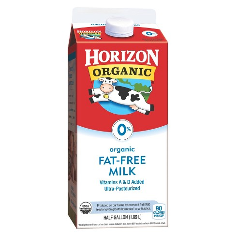 Horizon Organic Skim Milk - 0.5gal - image 1 of 1