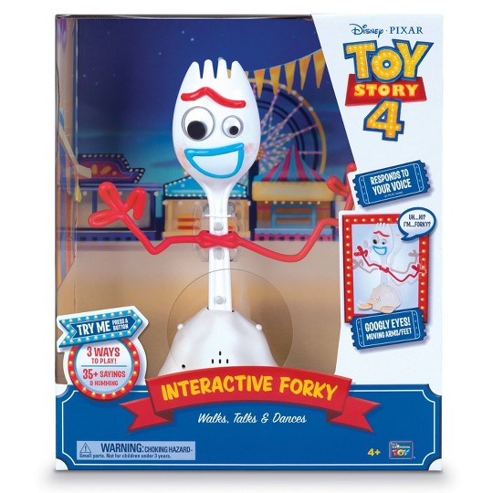 Disney Pixar Toy Story 4 Interactive Forky Figure image number null