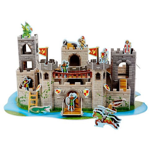 Melissa & Doug® Medieval Castle 3D Puzzle 100pc - image 1 of 11
