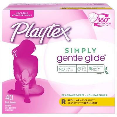 Tampons: Playtex Gentle Glide
