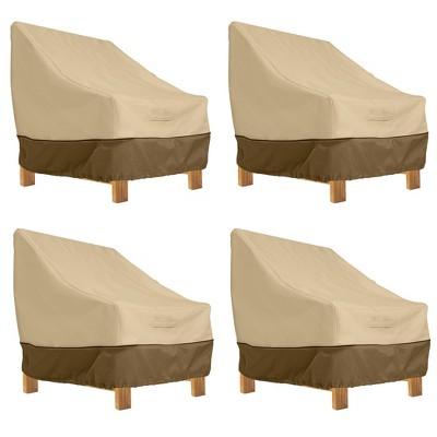 4pk Veranda Patio Lounge Chair Cover - Classic Accessories