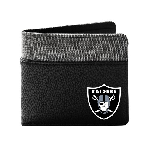 NFL Oakland Raiders Pebble BiFold Wallet - image 1 of 2