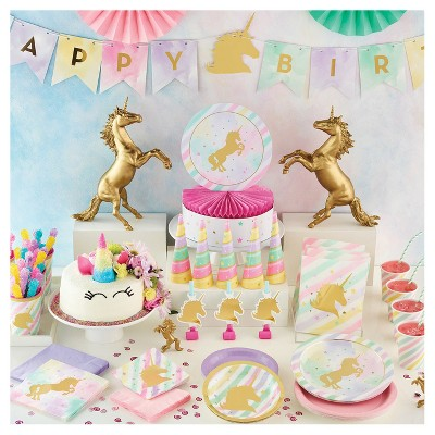 Sparkle Unicorn Birthday Party Supplies Collection Target