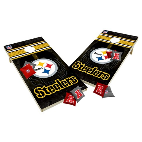 NFL Pittsburgh Steelers Wild Sports Tailgate Toss 2x4 Platinum Shield - image 1 of 1