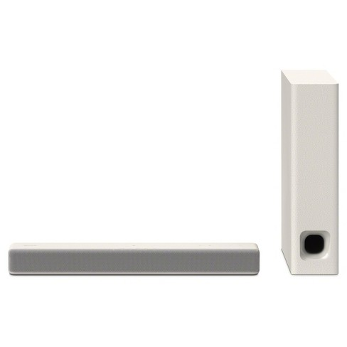 Sony 2.1 Mini Sound Bar With Wireless Subwoofer - White (HTMT300/W) - image 1 of 3