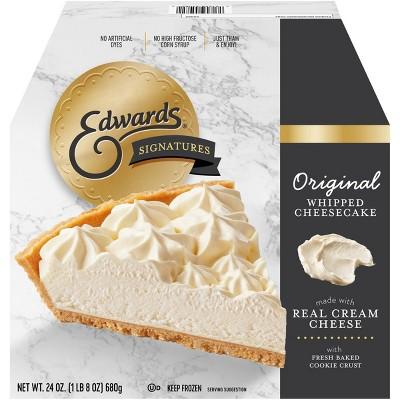 Edwards Frozen Original Whipped Cheesecake - 24oz