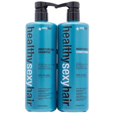 Sexy Hair Moisturizing Shampoo and Conditioner Duo Pack - 50 fl oz