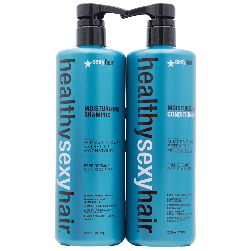Image of Sexy Hair Moisturizing Shampoo and Conditioner Duo Pack - 50 fl oz