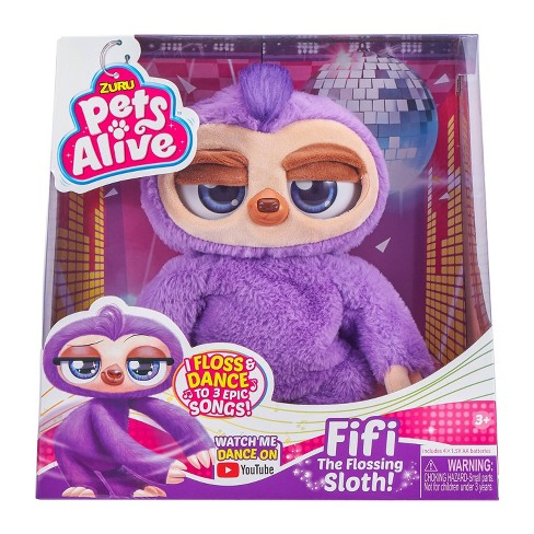 Pets Alive Flossing Sloth Target