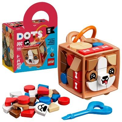 LEGO DOTS Bag Tag Dog DIY Craft Decorations Kit 41927