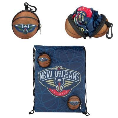 "NBA New Orleans Pelicans 9"" Drawstring Bag"