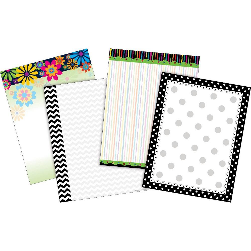 Barker Creek 200ct Paper Set - 4 designs, Multi-Colored