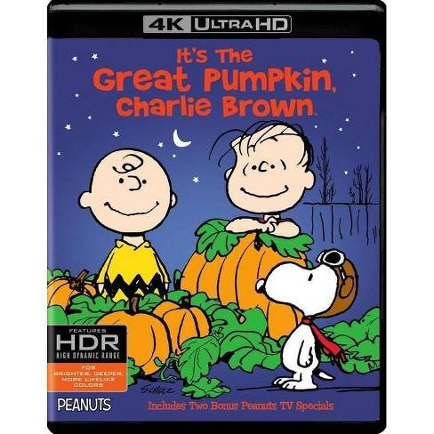 It's the Great Pumpkin, Charlie Brown (4K/UHD)(2017) - image 1 of 1