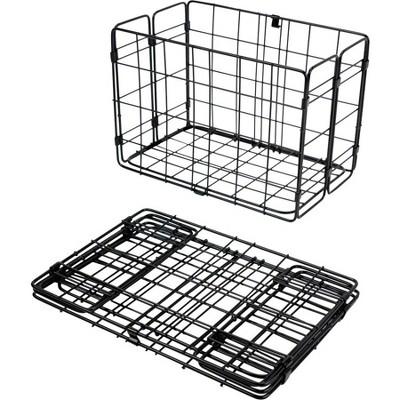 Wald Folding Rear Mount Baskets