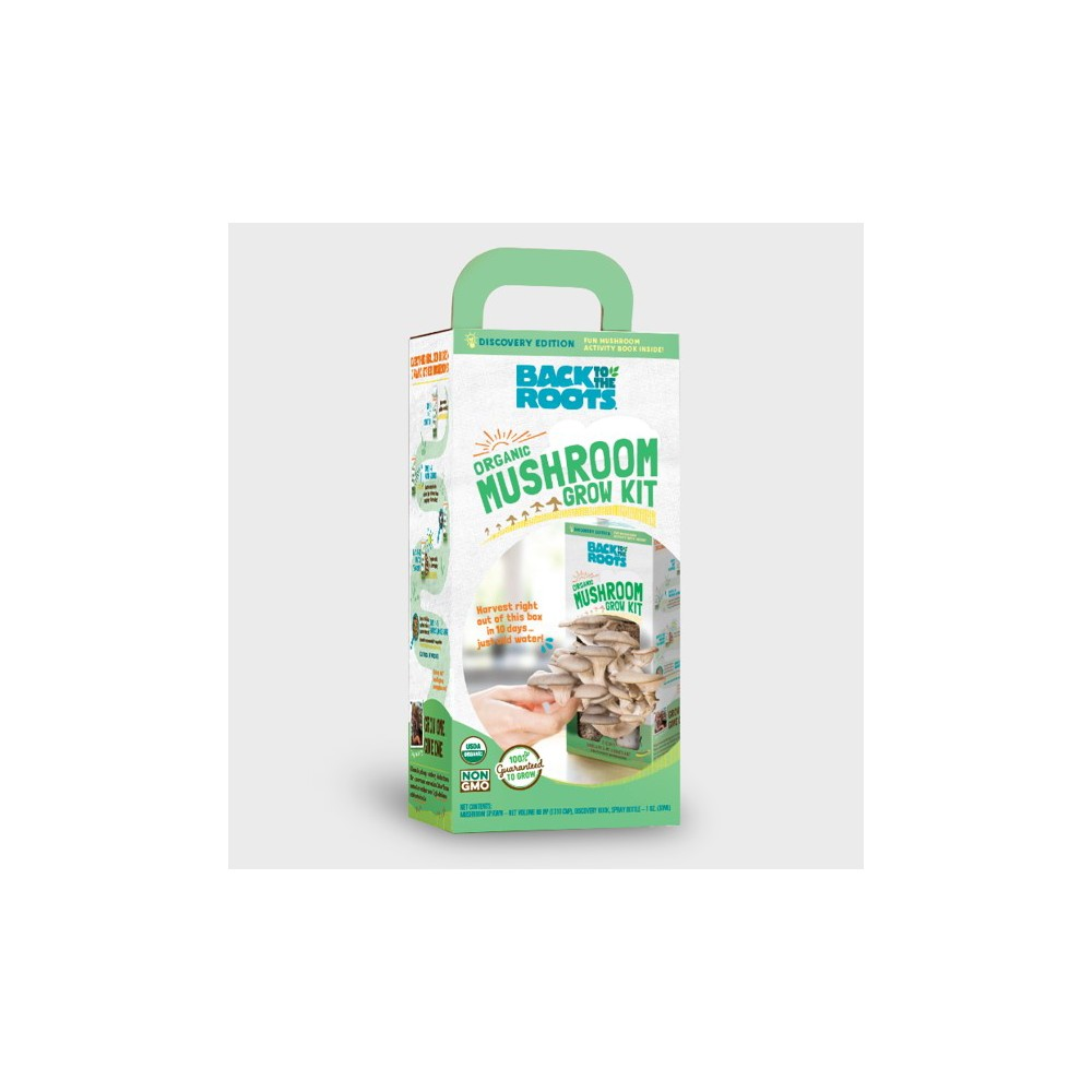Image of Organic Mushroom Kit - Back to the Roots, Morel