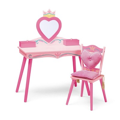 Princess Vanity Table and Chair Set - WildKin