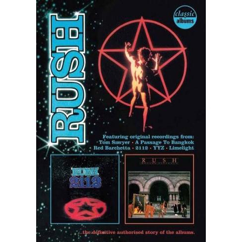 Rush: 2112 & Moving Pictures Classic Album (DVD) - image 1 of 1