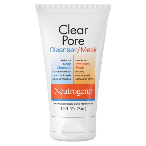 Neutrogena Clear Pore Facial Cleanser/Mask - 4.2 fl oz - image 1 of 3