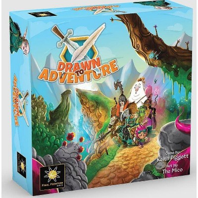 Drawn to Adventure Board Game