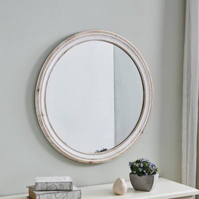 Clybourne Farmhouse Mirror White - FirsTime