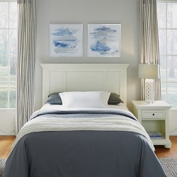 Home Styles Queen/Full Dover Headboard & Night Stand White