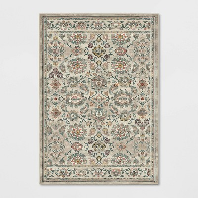 7'X10' Yancey Floral Persian Area Rug - Threshold™