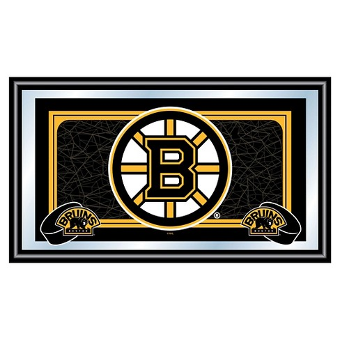 Boston Bruins Team Logo Wall Mirror - image 1 of 1