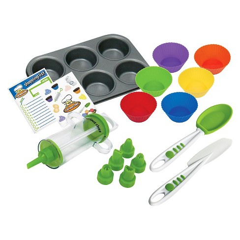 Curious Chef 16pc Cupcake and Decorating Kit - image 1 of 2