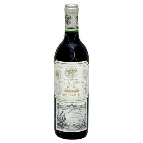 Marques De Riscal® Reserva Rioja red Blend - 750mL Bottle - image 1 of 1