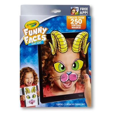 Crayola Funny Faces - Zany Zoo