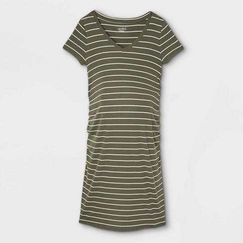 Short Sleeve Rib T-Shirt Maternity Dress - Isabel Maternity by Ingrid & Isabel™  - image 1 of 2