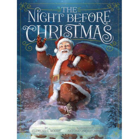 The Night Before Christmas - by  Clement C Moore (Hardcover) - image 1 of 1
