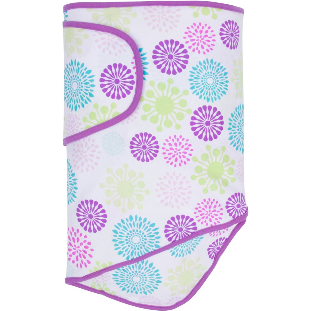 Image of Miracle Blanket Swaddle Wrap Color Bursts