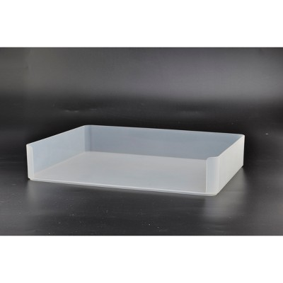 Plastic Stacking Letter Tray Clear - Made By Design™