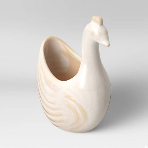 "4"" Earthenware Planter Bird Figural - Opalhouse™ - image 1 of 3"