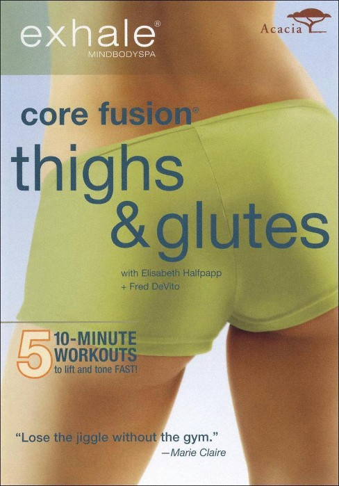 Exhale:Core fusion thighs & glutes (DVD) - image 1 of 1