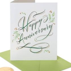 Elegant Happy Anniversary Card - PAPYRUS