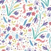 Kids Printed Upholstered Headboard Full Floral Multi - Pillowfort™ - image 4 of 4