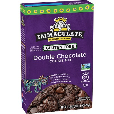 Baking Mixes: Immaculate Gluten Free Double Chocolate Cookie Mix