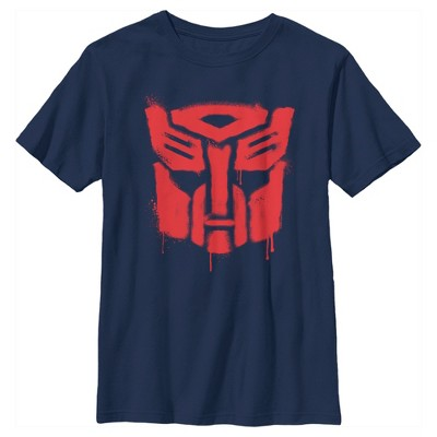 Boy's Transformers Autobots Graffiti Logo T-Shirt