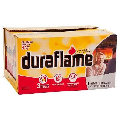 DURAFLAME 6pk 5lb Firelogs