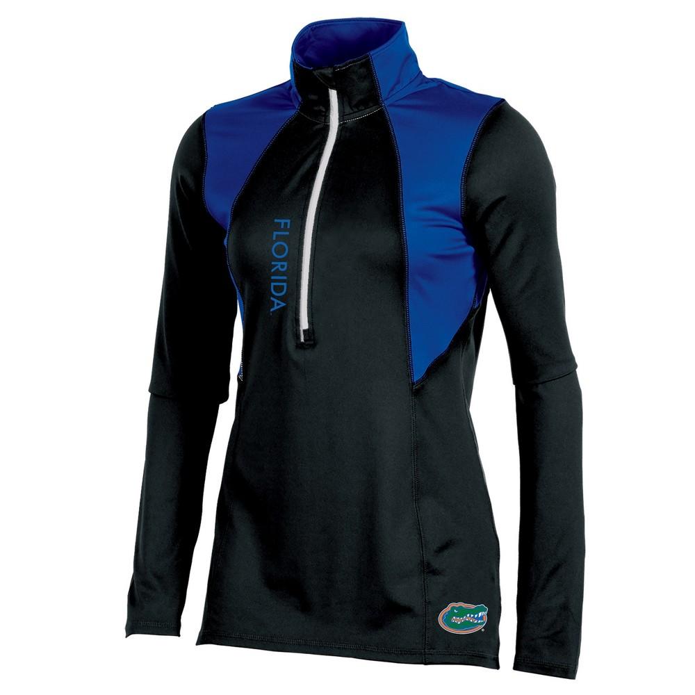 Florida Gators Women's Long Sleeve 1/2 Zip Performance Sweatshirt - XL, Multicolored