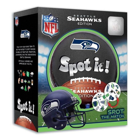 NFL Seattle Seahawks Spot It Game - image 1 of 3