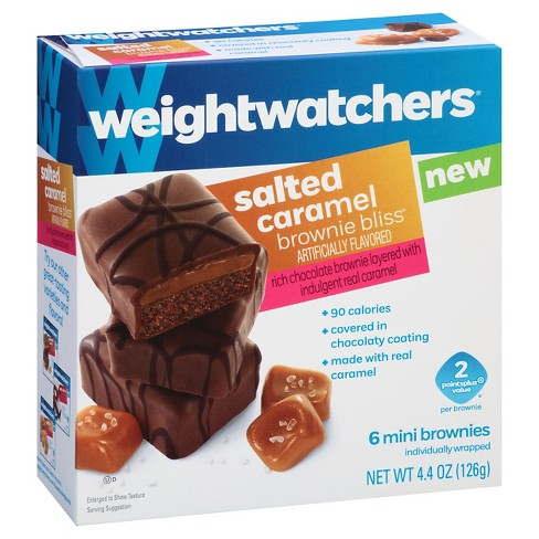 Weight Watchers Salted Caramel Brownie Bliss 4.4oz 6ct - image 1 of 1