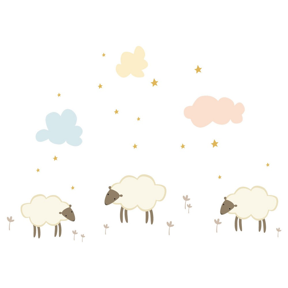 Image of Little Sheep Wall Decal