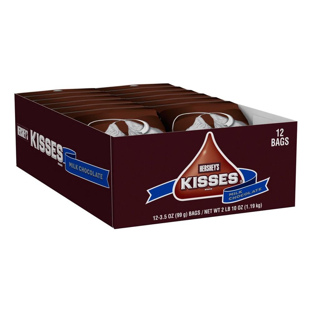 Hershey's Kisses Milk Chocolate - 10oz/12ct